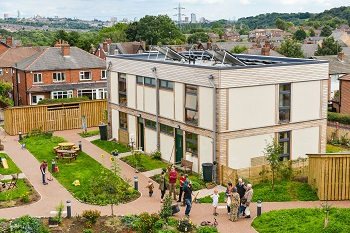 LILAC cohousing community in Leeds
